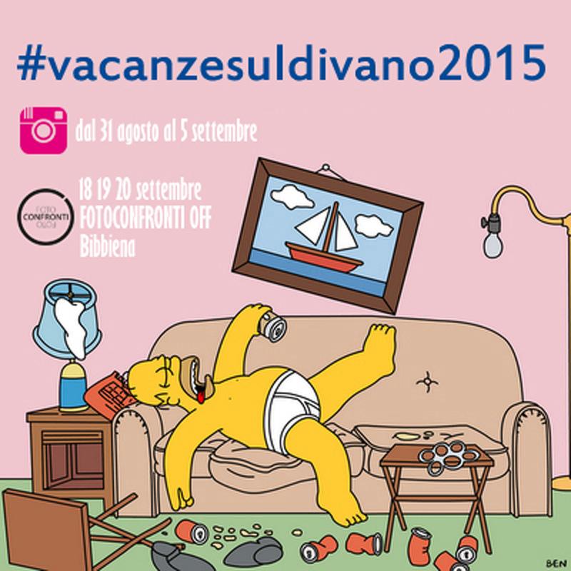 CONTEST INSTAGRAM  VACANZE SUL DIVANO 2015